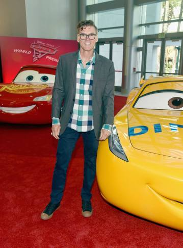"""ANAHEIM, CA - JUNE 10: Ray Evernham poses at the World Premiere of Disney/Pixarís ìCars 3"""" at the Anaheim Convention Center on June 10, 2017 in Anaheim, California. (Photo by Alberto E. Rodriguez/Getty Images for Disney) *** Local Caption *** Ray Evernham"""