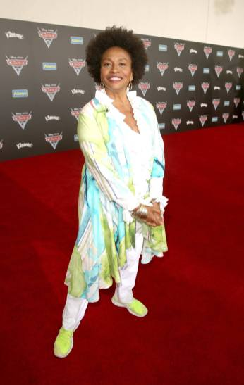 "ANAHEIM, CA - JUNE 10: Actor Jenifer Lewis poses at the World Premiere of Disney/Pixarís ìCars 3"" at the Anaheim Convention Center on June 10, 2017 in Anaheim, California. (Photo by Jesse Grant/Getty Images for Disney) *** Local Caption *** Jenifer Lewis"