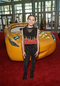 """ANAHEIM, CA - JUNE 10: Actor Sky Katz at the World Premiere of Disney/Pixarís ìCars 3"""" at the Anaheim Convention Center on June 10, 2017 in Anaheim, California. (Photo by Alberto E. Rodriguez/Getty Images for Disney) *** Local Caption *** Sky Katz"""