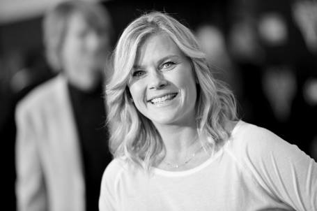 """ANAHEIM, CA - JUNE 10: (EDITORS NOTE: Image has been shot in black and white) Actor Alison Sweeney at the World Premiere of Disney/Pixarís ìCars 3"""" at the Anaheim Convention Center on June 10, 2017 in Anaheim, California. (Photo by Charley Gallay/Getty Images for Disney) *** Local Caption *** Alison Sweeney"""