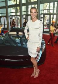"""ANAHEIM, CA - JUNE 10: Actor Heather Morris poses at the World Premiere of Disney/Pixarís ìCars 3"""" at the Anaheim Convention Center on June 10, 2017 in Anaheim, California. (Photo by Alberto E. Rodriguez/Getty Images for Disney) *** Local Caption *** Heather Morris"""
