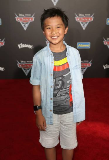 """ANAHEIM, CA - JUNE 10: Actor Ian Chen poses at the World Premiere of Disney/Pixarís ìCars 3"""" at the Anaheim Convention Center on June 10, 2017 in Anaheim, California. (Photo by Jesse Grant/Getty Images for Disney) *** Local Caption *** Ian Chen"""
