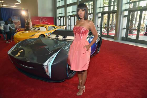 """ANAHEIM, CA - JUNE 10: Actor Kerry Washington poses at the World Premiere of Disney/Pixarís ìCars 3"""" at the Anaheim Convention Center on June 10, 2017 in Anaheim, California. (Photo by Alberto E. Rodriguez/Getty Images for Disney) *** Local Caption *** Kerry Washington"""