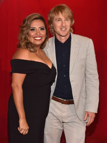 """ANAHEIM, CA - JUNE 10: Actors Cristela Alonzo (L) and Owen Wilson pose at the World Premiere of Disney/Pixarís ìCars 3"""" at the Anaheim Convention Center on June 10, 2017 in Anaheim, California. (Photo by Alberto E. Rodriguez/Getty Images for Disney) *** Local Caption *** Cristela Alonzo"""
