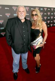 "ANAHEIM, CA - JUNE 10: Actor John Ratzenberger (L) and Julie Blichfeldt pose at the World Premiere of Disney/Pixarís ìCars 3"" at the Anaheim Convention Center on June 10, 2017 in Anaheim, California. (Photo by Jesse Grant/Getty Images for Disney) *** Local Caption *** Julie Blichfeldt;John Ratzenberger"