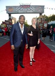 ANAHEIM, CA - JUNE 10: Actor Isiah Whitlock Jr. (L) and guest at the after party for the World Premiere of Disney/Pixarís ìCars 3î at Cars Land at Disney California Adventure in Anaheim, CA. (Photo by Alberto E. Rodriguez/Getty Images for Disney) *** Local Caption *** Isiah Whitlock Jr.
