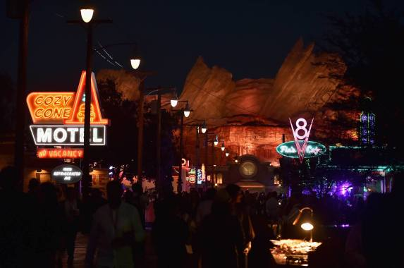 ANAHEIM, CA - JUNE 10: A view of the after party for the World Premiere of Disney/Pixarís ìCars 3î at Cars Land at Disney California Adventure in Anaheim, CA. (Photo by Alberto E. Rodriguez/Getty Images for Disney)