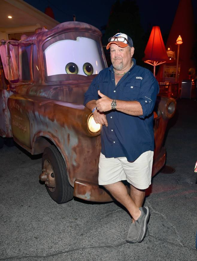 ANAHEIM, CA - JUNE 10: Actor Larry the Cable Guy poses at the after party for the World Premiere of Disney/Pixarís ìCars 3î at Cars Land at Disney California Adventure in Anaheim, CA. (Photo by Alberto E. Rodriguez/Getty Images for Disney) *** Local Caption *** Larry the Cable Guy;Daniel Lawrence Whitney