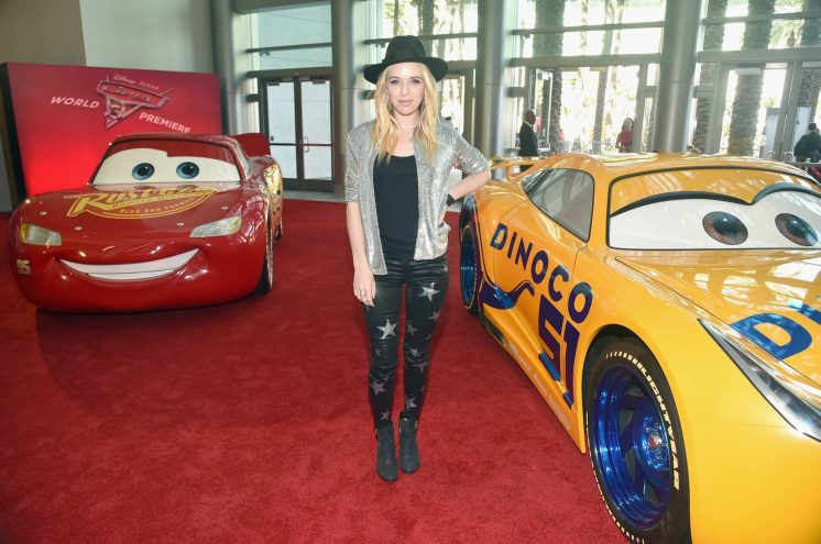 """ANAHEIM, CA - JUNE 10: Recording artist ZZ Ward poses at the World Premiere of Disney/Pixarís ìCars 3"""" at the Anaheim Convention Center on June 10, 2017 in Anaheim, California. (Photo by Alberto E. Rodriguez/Getty Images for Disney) *** Local Caption *** ZZ Ward"""