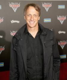 "ANAHEIM, CA - JUNE 10: Professional skateboarder Tony Hawk poses at the World Premiere of Disney/Pixarís ìCars 3"" at the Anaheim Convention Center on June 10, 2017 in Anaheim, California. (Photo by Jesse Grant/Getty Images for Disney) *** Local Caption *** Tony Hawk"