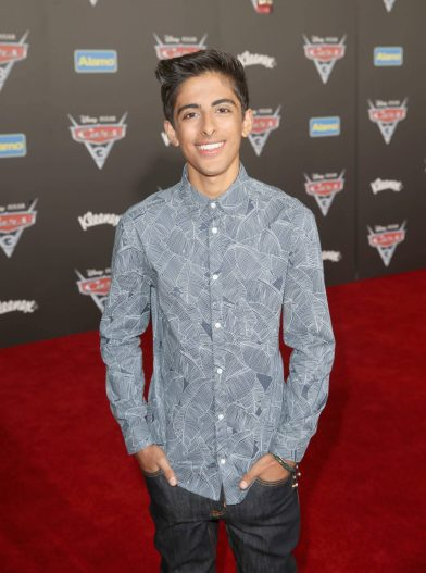 "ANAHEIM, CA - JUNE 10: Actor Karan Brar poses at the World Premiere of Disney/Pixarís ìCars 3"" at the Anaheim Convention Center on June 10, 2017 in Anaheim, California. (Photo by Jesse Grant/Getty Images for Disney) *** Local Caption *** Karan Brar"