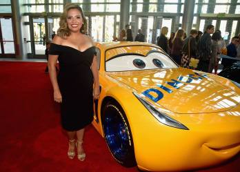 """ANAHEIM, CA - JUNE 10: Actor Cristela Alonzo poses at the World Premiere of Disney/Pixarís ìCars 3"""" at the Anaheim Convention Center on June 10, 2017 in Anaheim, California. (Photo by Alberto E. Rodriguez/Getty Images for Disney) *** Local Caption *** Cristela Alonzo"""