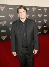 "ANAHEIM, CA - JUNE 10: Actor Nathan Fillion poses at the World Premiere of Disney/Pixarís ìCars 3"" at the Anaheim Convention Center on June 10, 2017 in Anaheim, California. (Photo by Jesse Grant/Getty Images for Disney) *** Local Caption *** Nathan Fillion"