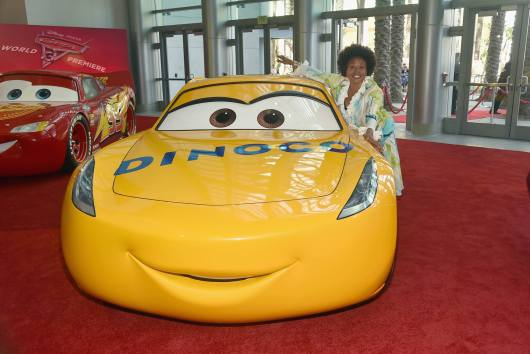 "ANAHEIM, CA - JUNE 10: Actor Jenifer Lewis poses at the World Premiere of Disney/Pixarís ìCars 3"" at the Anaheim Convention Center on June 10, 2017 in Anaheim, California. (Photo by Alberto E. Rodriguez/Getty Images for Disney) *** Local Caption *** Jenifer Lewis"