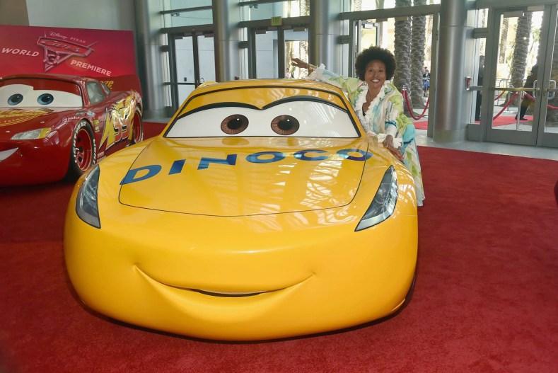 "ANAHEIM, CA - JUNE 10: Actor Jenifer Lewis poses at the World Premiere of Disney/Pixarís ìCars 3"" at the Anaheim Convention Center on June 10, 2017 in Anaheim, California. (Photo by Alberto E. Rodriguez/Getty Images for Disney) *** Local Caption *** Jenifer Lewis"