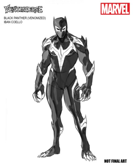 VENOMVERSE Black Panther Design