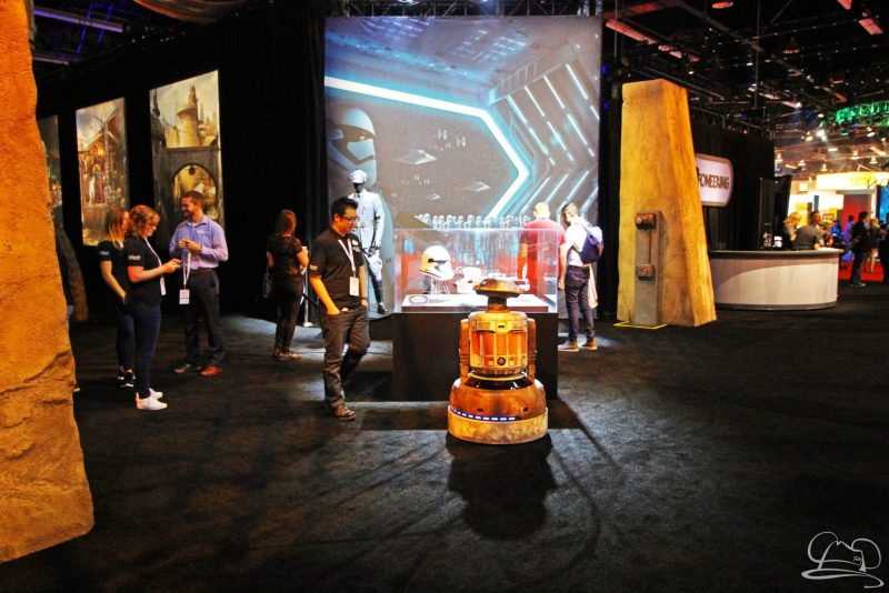 Jake the Droid at D23 Expo