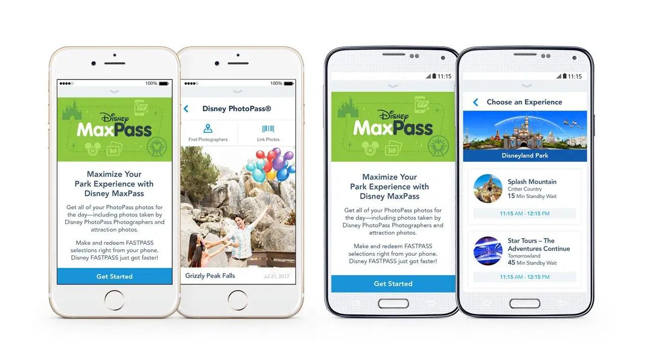 Disney MaxPass for Disneyland Resort