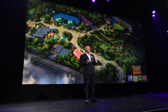 BOB CHAPEK (CHAIRMAN, DISNEY PARKS AND RESORTS)
