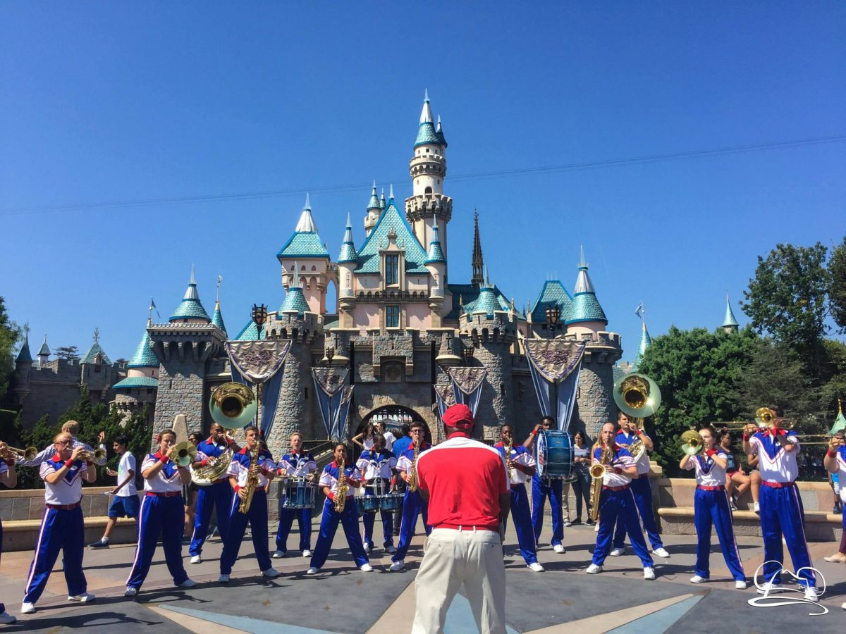 Disneyland Resort 2017 All-American College Band Says Goodbye!