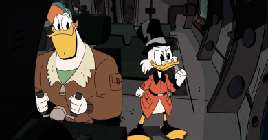 DuckTales - Launchpad McQuack and Scrooge McDuck