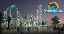 HangTime Night Time Rendering With Logo