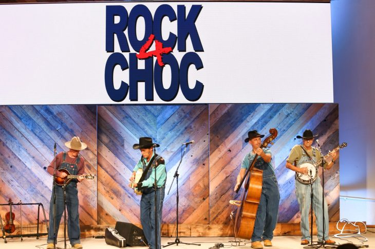 ROCK4CHOC with Krazy Kirk and the Hillbillies - Photographs by Megan Ewbank