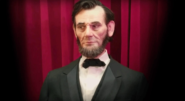 Garner Holt Productions Animatronic Lincoln Expressive Humanoid Robot Head