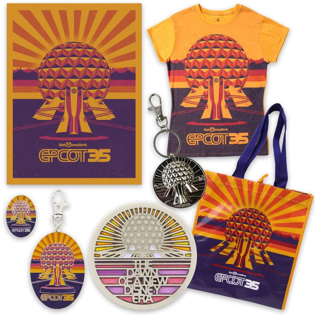 Epcot 35th Anniversary Merchandise