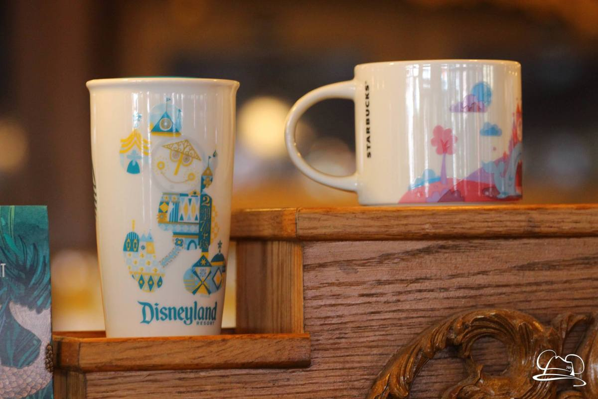 New Tumblers Arrive at Market House Starbucks in Disneyland