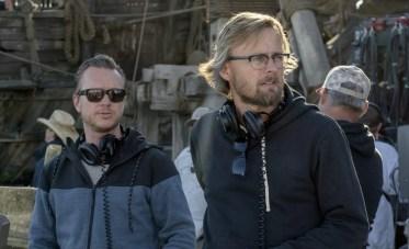 "Disney's ""PIRATES OF THE CARIBBEAN: DEAD MEN TELL NO TALES""..L to R: Director Espen Sandberg and Director Joachim Rønning..©Disney Enterprises, Inc. All Rights Reserved."