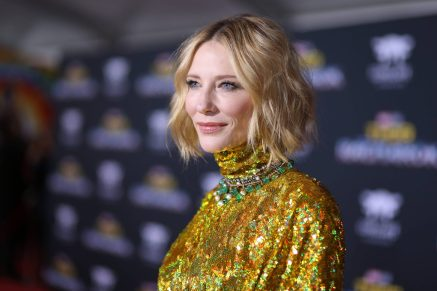 """HOLLYWOOD, CA - OCTOBER 10: Actor Cate Blanchett at The World Premiere of Marvel Studios' """"Thor: Ragnarok"""" at the El Capitan Theatre on October 10, 2017 in Hollywood, California. (Photo by Rich Polk/Getty Images for Disney) *** Local Caption *** Cate Blanchett"""