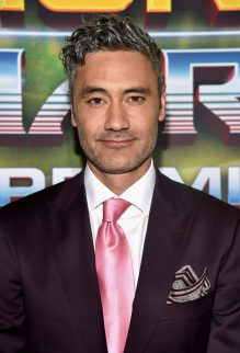 """HOLLYWOOD, CA - OCTOBER 10: Director Taika Waititi at The World Premiere of Marvel Studios' """"Thor: Ragnarok"""" at the El Capitan Theatre on October 10, 2017 in Hollywood, California. (Photo by Alberto E. Rodriguez/Getty Images for Disney) *** Local Caption *** Taika Waititi"""