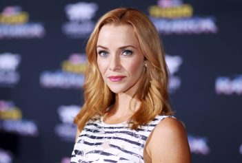 "HOLLYWOOD, CA - OCTOBER 10: Annie Wersching at The World Premiere of Marvel Studios' ""Thor: Ragnarok"" at the El Capitan Theatre on October 10, 2017 in Hollywood, California. (Photo by Rich Polk/Getty Images for Disney) *** Local Caption *** Annie Wersching"