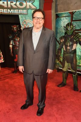 """HOLLYWOOD, CA - OCTOBER 10: Director/producer Jon Favreau at The World Premiere of Marvel Studios' """"Thor: Ragnarok"""" at the El Capitan Theatre on October 10, 2017 in Hollywood, California. (Photo by Alberto E. Rodriguez/Getty Images for Disney) *** Local Caption *** Jon Favreau"""