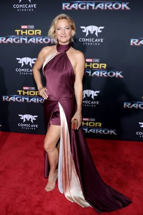 "HOLLYWOOD, CA - OCTOBER 10: Zoe Bell at The World Premiere of Marvel Studios' ""Thor: Ragnarok"" at the El Capitan Theatre on October 10, 2017 in Hollywood, California. (Photo by Rich Polk/Getty Images for Disney) *** Local Caption *** Zoe Bell"