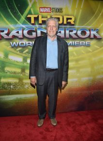 """HOLLYWOOD, CA - OCTOBER 10: Actor Clancy Brown at The World Premiere of Marvel Studios' """"Thor: Ragnarok"""" at the El Capitan Theatre on October 10, 2017 in Hollywood, California. (Photo by Alberto E. Rodriguez/Getty Images for Disney) *** Local Caption *** Clancy Brown"""