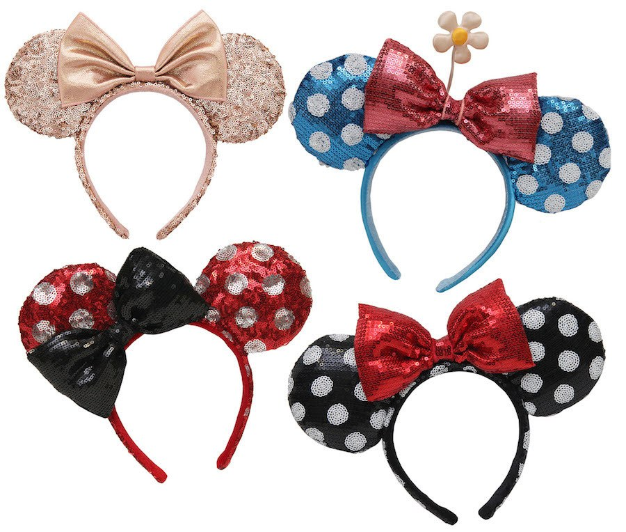 New Minnie Mouse Headwear Arrives this Fall