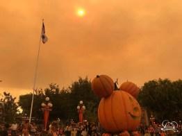 Wildfire Smoke over the Disneyland Resort