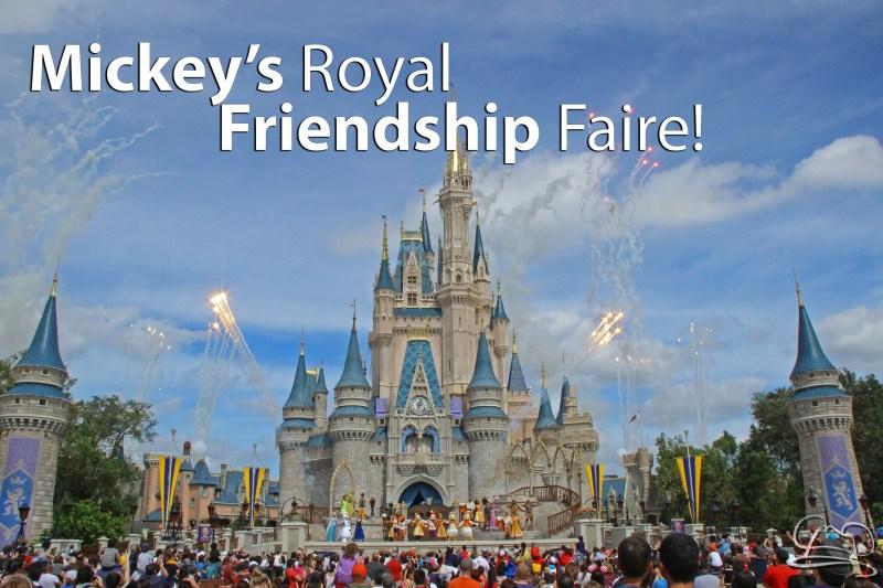 Mickey's Royal Friendship Faire - Magic Kingdom - Walt Disney World