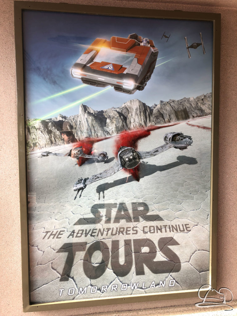 Star Tours - The Adventures Continue - Poster