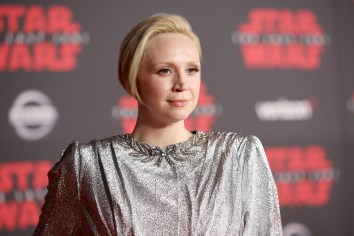 LOS ANGELES, CA - DECEMBER 09: Actor Gwendoline Christie at Star Wars: The Last Jedi Premiere at The Shrine Auditorium on December 9, 2017 in Los Angeles, California. (Photo by Jesse Grant/Getty Images for Disney) *** Local Caption *** Gwendoline Christie