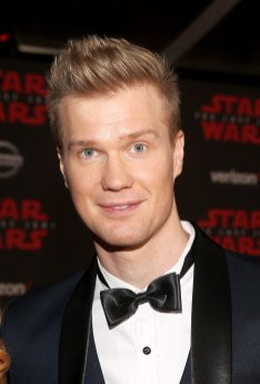 LOS ANGELES, CA - DECEMBER 09: Actor Joonas Suotamo at Star Wars: The Last Jedi Premiere at The Shrine Auditorium on December 9, 2017 in Los Angeles, California. (Photo by Jesse Grant/Getty Images for Disney) *** Local Caption *** Joonas Suotamo