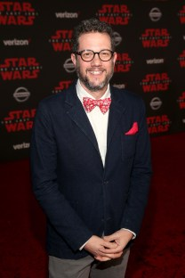 LOS ANGELES, CA - DECEMBER 09: Composer Michael Giacchino at Star Wars: The Last Jedi Premiere at The Shrine Auditorium on December 9, 2017 in Los Angeles, California. (Photo by Jesse Grant/Getty Images for Disney) *** Local Caption *** Michael Giacchino