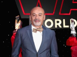 LOS ANGELES, CA - DECEMBER 09: Designer Christian Louboutin at Star Wars: The Last Jedi Premiere at The Shrine Auditorium on December 9, 2017 in Los Angeles, California. (Photo by Rich Polk/Getty Images for Disney) *** Local Caption *** Christian Louboutin