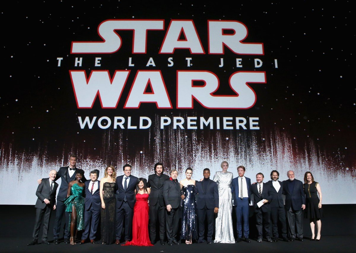 Photo Gallery -  Star Wars: The Last Jedi World Premiere