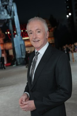 Anthony Daniels arrives on the red carpet for the world premiere of LucasfilmÕs Star Wars: The Last Jedi at the Shrine Auditorium in Los Angeles, December 9, 2017..(Photo: Alex J. Berliner / ABImages )
