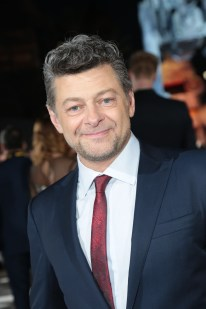 Andy Serkis arrives on the red carpet for the world premiere of LucasfilmÕs Star Wars: The Last Jedi at the Shrine Auditorium in Los Angeles, December 9, 2017..(Photo: Alex J. Berliner / ABImages )