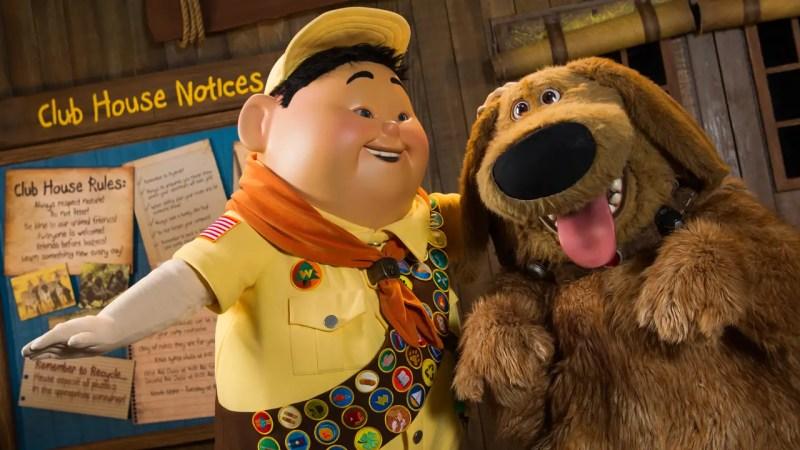 Disney-Pixar Russell and Dug