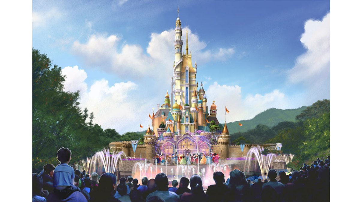 Disney Announces Hong Kong Disneyland Castle Transformation Details